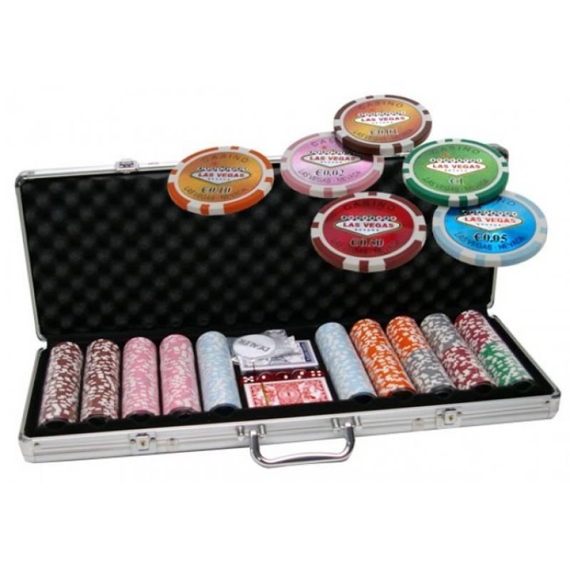 Las vegas poker set 500
