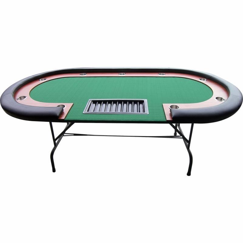 Table de poker Homegame Premium Noire 210cm avec ...